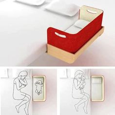 DIY bed for newborn....for the future