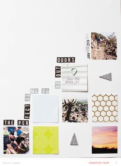 The Perfect Time by AllisonWaken at @Studio_Calico - use digital template as a base for a paper layout