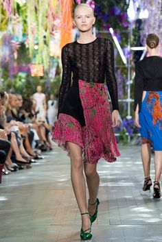 Christian Dior Spring 2014 Ready-to-Wear Fashion Show - Anabela Belikova (SILENT)