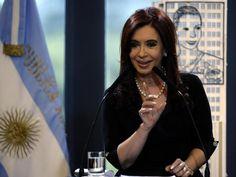 Cristina Fernandez de Kirchner, presidenta de la República Argentina.