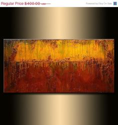 ORIGINAL Abstract Art Contemporary Art Modern by newwaveartgallery, $320.00