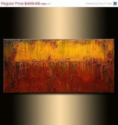 ORIGINAL Abstract Art Contemporary Art Modern by newwaveartgallery, $320.00
