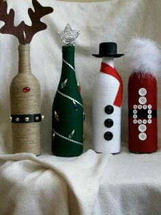 DIY Wine Bottle Painting Ideas for Home Décor Diy diy wine bottle crafts Glass Bottle Crafts, Wine Bottle Art, Diy Bottle, Beer Bottle, Diy Wine Bottles Crafts, Decorate Wine Bottles, Wine Bottles Decor, Wrapped Wine Bottles, Bottles And Jars