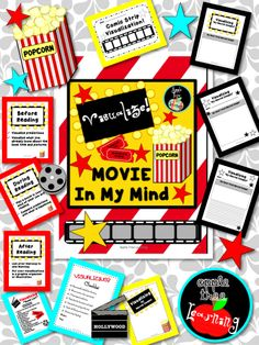 Visualizing to improve comprehension! Teach your students to make ..... MOVIE IN MY MIND!