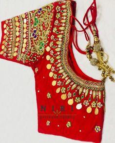 Brocade Blouse Designs, Brocade Blouses, Work Blouse, Hand Designs, Colour Chart, Color, Bridal, Sarees, Fabric