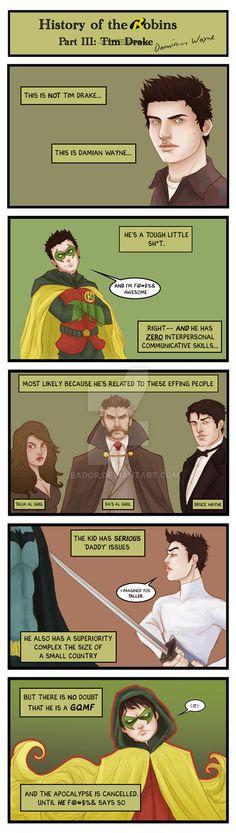Comic: Robin History Part IV by JBadgr.deviantart.com on @DeviantArt