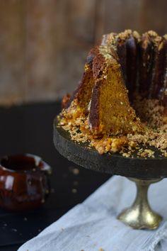 Würziger Kürbis Crumble Gugel - Pumpkin Spice Crumble Bundt Cakeü | Das Knusperstübchen