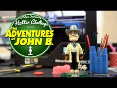 Adventures of John B. - Day 1 - #HatterChallenge is here and, watch out, John B. has found the Innovation Lab in the duPont-Ball Library! How can you double your impact? Make a gift to Stetson and 4 alumni donors will match it dollar for dollar, up to $50k. http://www.stetson.edu/hatter-challenge #whoisthatbobblehead #anythingispossible #dreambig