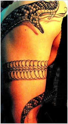 30 Evil Snake Tattoo Design: Rattle Tattoo Designs For Men On Sleeve ~ Tattoo Design Inspiration