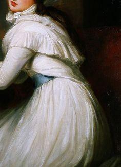 Portrait d'Emma, Lady Hamilton (Détails) George Romney . 1791