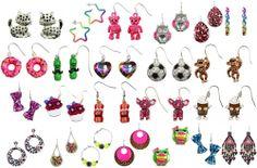 NWT Justice Girls Earrings Jewel/Googly Eyes/Glitter & More U Pick Style! NEW