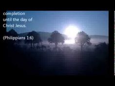 ▶ Scripture Snapshot Philippians 1:6 - YouTube
