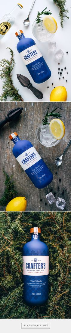Crafters Gin on Behance - created via https://pinthemall.net