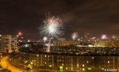 Nyår Frölunda, Göteborg, Sverige, fotograf Peter