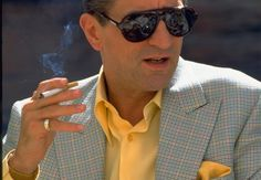 "robert de niro as sam ""ace"" rothstein in casino, martin scorsese Al Pacino, Martin Scorsese, Gangsters, The Gentlemans Journal, Saint Yves, Casino Movie, Fritz Lang, Wholesale Sunglasses, Buy Sunglasses"