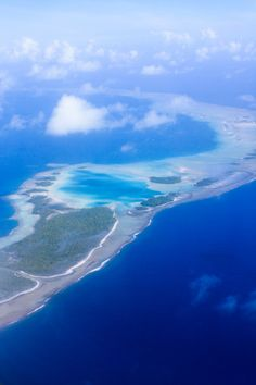 Rangiroa Blue Lagoon -honestly better from above!!!
