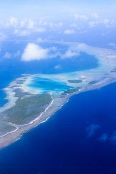 Rangiroa Blue Lagoon Blue Lagoon, Rangiroa, Tuamotu Archipelago, French Polynesia, Pacific Islands
