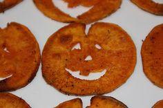 EVERYDAY SISTERS: Jack-O-Lantern Sweet Potato Fries