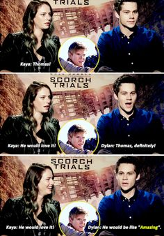 Dylan and Kaya - Most likely to be kidnapped by aliens? (part two)