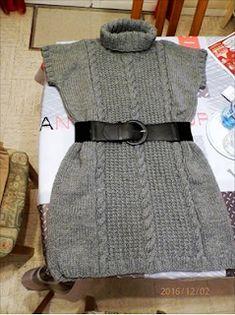 magalianne tricote - Page 3 - magalianne tricote Gilet Rose, Raglan, Madame, Apron, Sweaters, Dresses, Fashion, Cable Knit, Templates Free