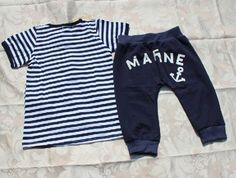 hot selling!! 2013 new  sea style summer kids boy suits striped t-shirt + pants 2pcs clothing set 5sets/lot free shipping
