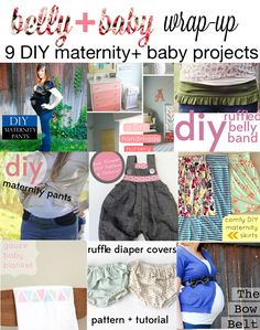 belly+baby projects (adorable things for maternity & newborns!)
