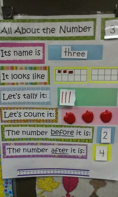 Kindergarten Number Sense (Picture Only) Preschool Math, Kindergarten Classroom, Fun Math, Classroom Activities, Teaching Math, Number Activities, Kindergarten Calendar Math, Ks1 Classroom, Maths Resources