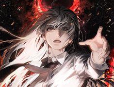 Dark Anime Girl, Cool Anime Girl, Anime Guys, Art Anime, Anime Art Girl, Manga Anime, Character Art, Character Design, Arte Ninja