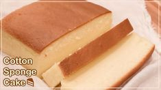 Taiwanese Castella Cake Recipe - Jiggly Fluffy Japanese cotton sponge ca. Cooking Foil, Cooking Recipes, Japanese Cotton Sponge Cake Recipe, Castella Cake Recipe, Bolo Chiffon, Cotton Cake, Japanese Cake, Sponge Cake Recipes, Raspberry Smoothie