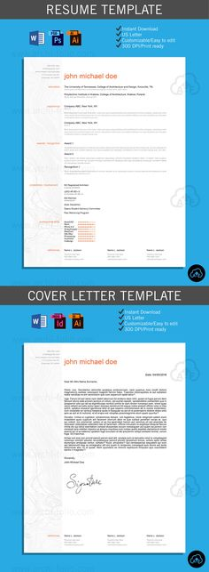 Resume \/\/ Highlighter 2 Theme \/\/Customizable\/\/Professional - interior design resume