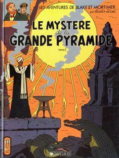 Blake et Mortimer - Le mystère de la grande pyramide de Jacobs