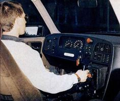 The Saab 9000 - Prometheus used a joystick to steer. The joystick, located in the center console, steered the car when twisted left or right to change direction. The main reason behind this innovation was to reduce injuries that were caused from hitting the steering wheel during an accident. The joystick failed at making the fine-tuned adjustments to how the vehicle is being steered and was, therefore, scrapped.
