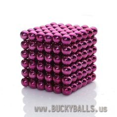 Buckyballs USD $30.77 dollars Purple Red Buckyballs Neocube Magnetic Balls Toys 5mm*216pcs