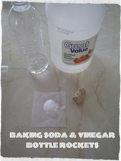 Teach Beside Me: Quick Bottle Rockets using baking soda and vinegar!