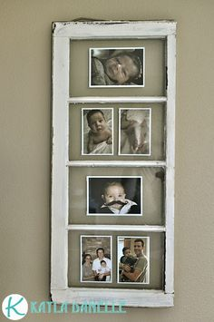 Kayla Danelle: Old Window Picture Frames