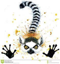 lemur tattoo - Google Search
