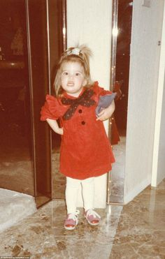 Ivanka Trump was the apple of her President-Elect father's eye. The plethora of photos of her as a child discovered by a collector in Florida attest to how much she was adored.
