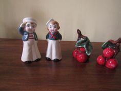 Vintage Salt and Pepper Shakers Sailors - 543