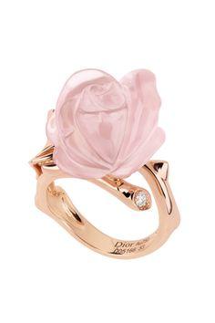 Dior ring pink