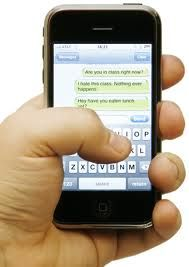 Communicating with customers using SMS Text Message.