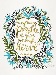 Giclee Print: Anything Is Possible by Cat Coquillette : 24x18in