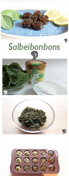 DIY: Make sage sweets yourself - ariana DIY: Salbeibonbons selber machen – arianebrand Prepare yourself for the next cold period – with delicious homemade sage sweets. Diy Beauty Organizer, Le Diner, Salvia, Diy Food, Herbalism, Clean Eating, Food And Drink, Favorite Recipes, Sweets