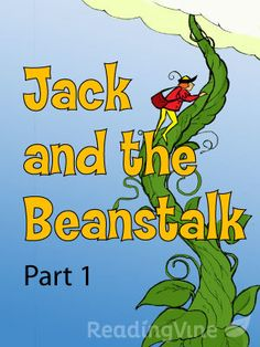 "Part 1 passage: ""Jack and the Beanstalk"" is a traditional English fairy tell, probably originating in the 18th century. This much-loved tale of Jack and his magic beans has been told numerous times. This version was adapted by John Jacobs in 1890. Students will read the first part of the story and answer questions on character traits and the theme."
