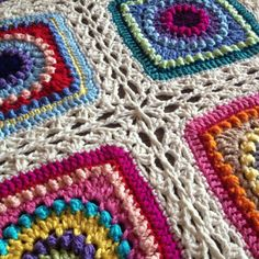 Crochet - Shell Lace Border and joining method
