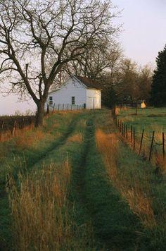 Photograph by Joel Sartore. Historic Stevens Creek Farm near Lincoln Nebraska. Content in a Cottage