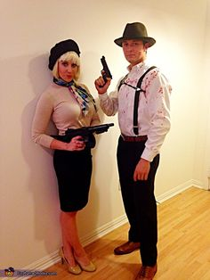 Bonnie & Clyde - Halloween Costume Contest via @costume_works