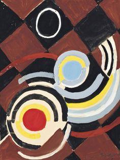 colin-vian: Sonia Delaunay (1884-1979) Rythme coloré, 1948