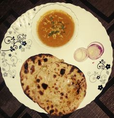 Tofu naan with gravy Recipe and Nutrition Chart - YumZen Dairy Milk Chocolate, Nutrition Chart, Snap Food, Food Snapchat, Chapati, Food Goals, Indian Dishes, Naan, Gravy