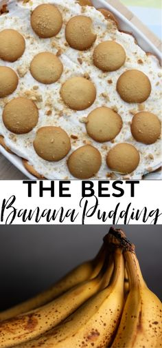 This Easy Banana Pudding Recipe is an ideal dessert to make any time of the year. This recipe includes a mix of banana pudding, vanilla pudding, cool whip, bananas and vanilla wafers. If I'm being honest, I would love to call this total deliciousness in a pan! Perfect Banana Pudding Recipe, Cool Whip Banana Pudding, Banana Pudding Recipes, Desserts To Make, Dessert Recipes, Best Food Ever, Bananas, Vanilla, Easy Meals