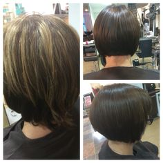 Restyle colour and cut